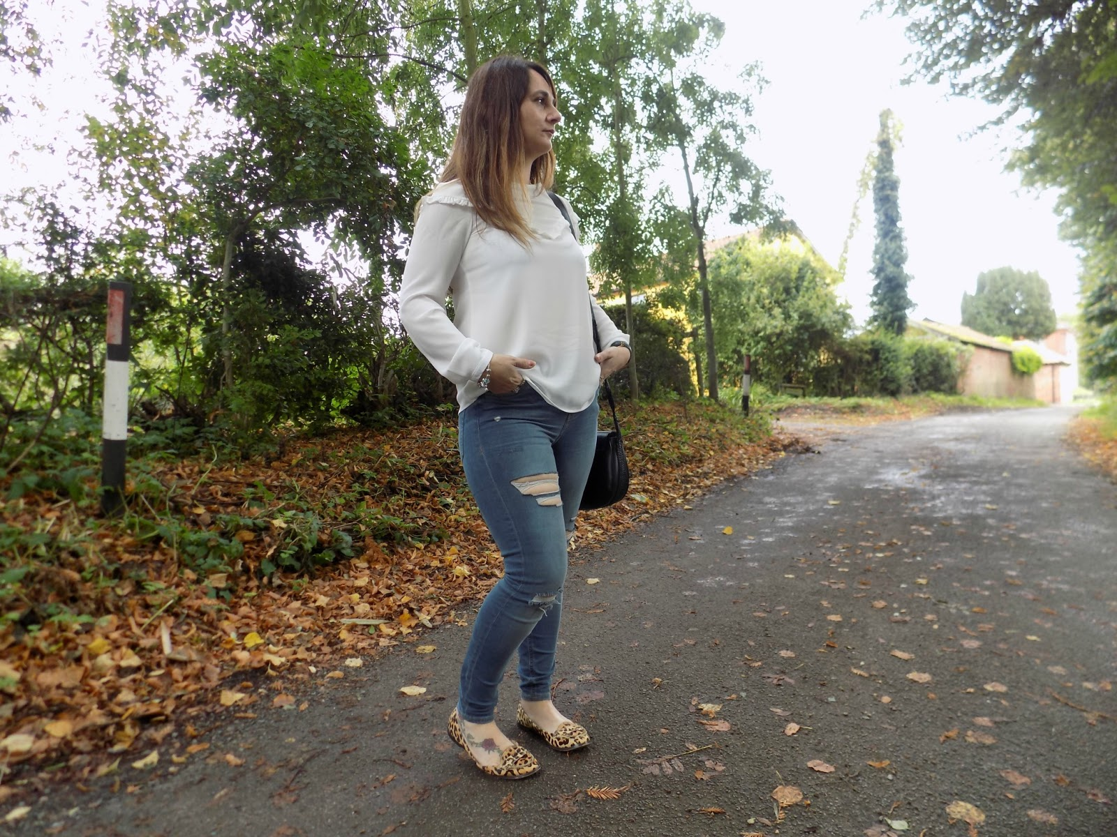 Transitional Autumn look from newlook and Topshop