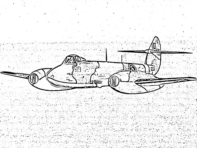 RAF Gloster Meteor worldwartwo.filminspector.com