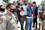 Polresta Mataram Kawal Aksi Demo di Depan DPRD NTB