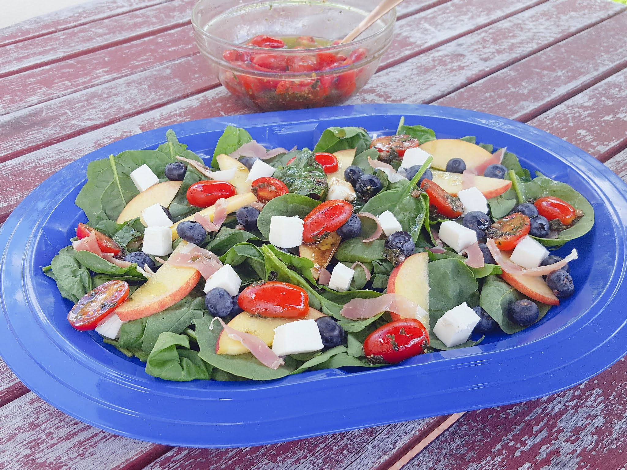 Red, White & Blue Summer Salad