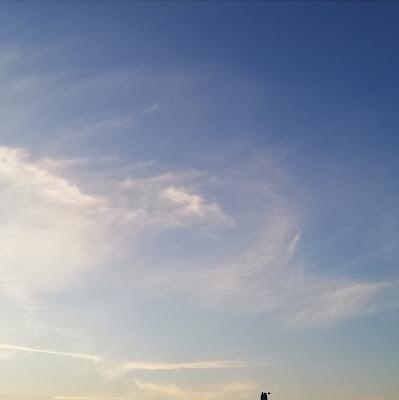 Zonsondergang boven Oosterwold