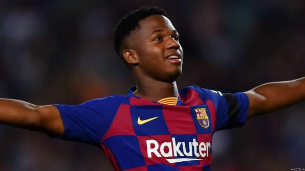 Spain Want Barca Sensation Ansu Fati to Play For Them