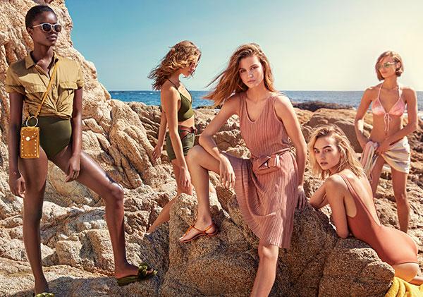 Moda baño verano 2017 H&M