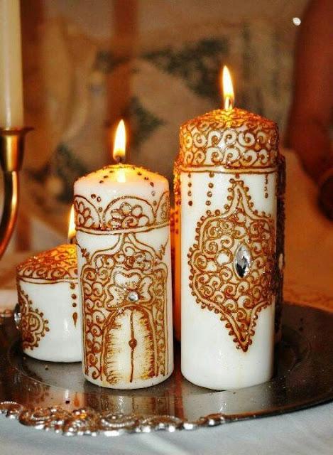 Dekorasi Ramadhan Lilin Arab