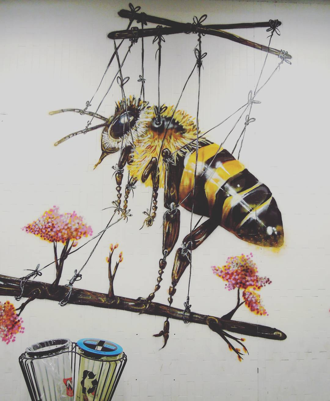 art by louis masai, street art, quai 36, gare du nord, wildstreet