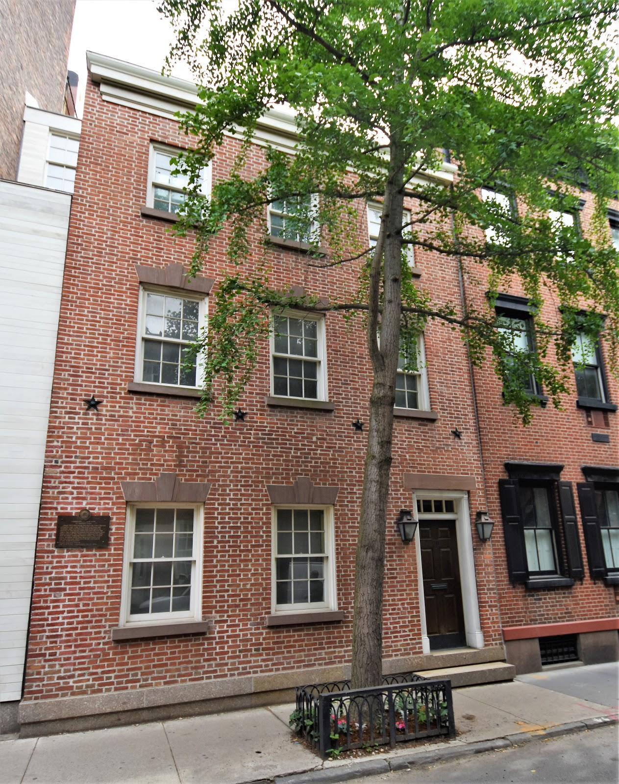 At Some Point Before 1799 Bedford Street Appeared On The