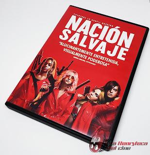 Nacion Salvaje DVD Front