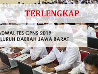 Lengkap ! Jadwal Seleksi CPNS 2019  Seluruh Kabupaten dan Kota di Jawa Barat
