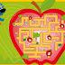 Laberinto en manzana resolver online