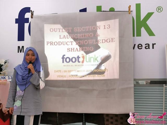 Pemilik Footlink Seksyen 13 Shah Alam, Ir. Noor Shafawati