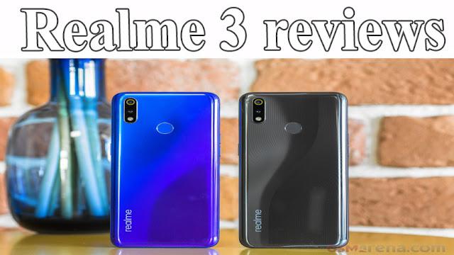 Realme 3 reviews: