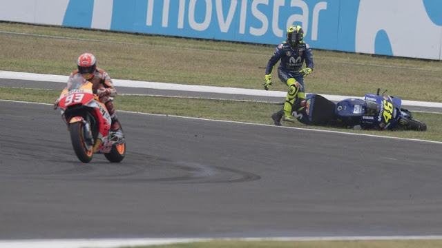 Rossi: Marquez Sudah Hancurkan MotoGP