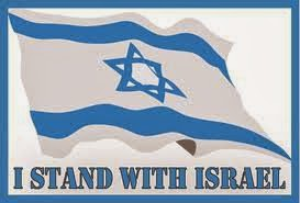 Standing with the Jewish nation of Israel.