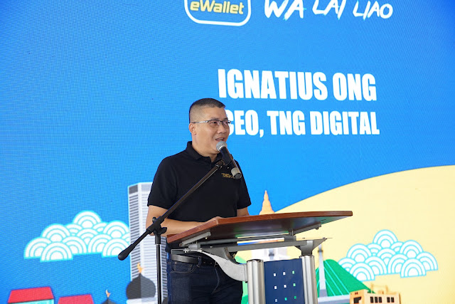 TOUCH 'N GO EWALLET TIBA DI BANDAR WARISAN PULAU PINANG Touch 'n Go eWallet membawa kemudahan transaksi tanpa tunai kepada para penduduk Pulau Pinang termasuk di jalan-jalan warisan.