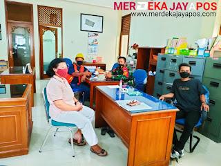 Babinsa Koramil 03 Serengan Mediasi Dengan Pedagang Kaki Lima di Wilayah Kemlayan Serengan