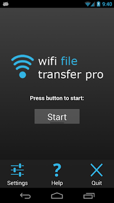 Wifi File Transfer Pro v1.0.9 for Android