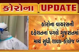 Gujarat primary school close Due to Corona virus effect