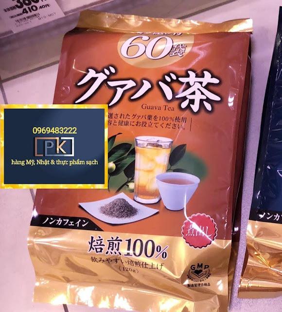 Trà lá ổi giảm cân Orihiro, hàng Nhật