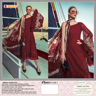 Fepic Rosemeen Maria b vol 1 Pakistani Cotton Suits