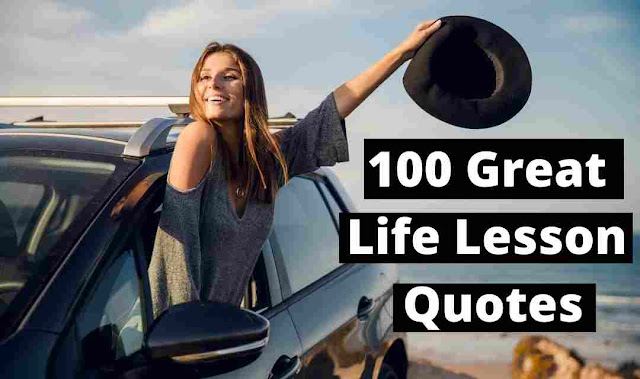 Life Lesson Quotes for Success