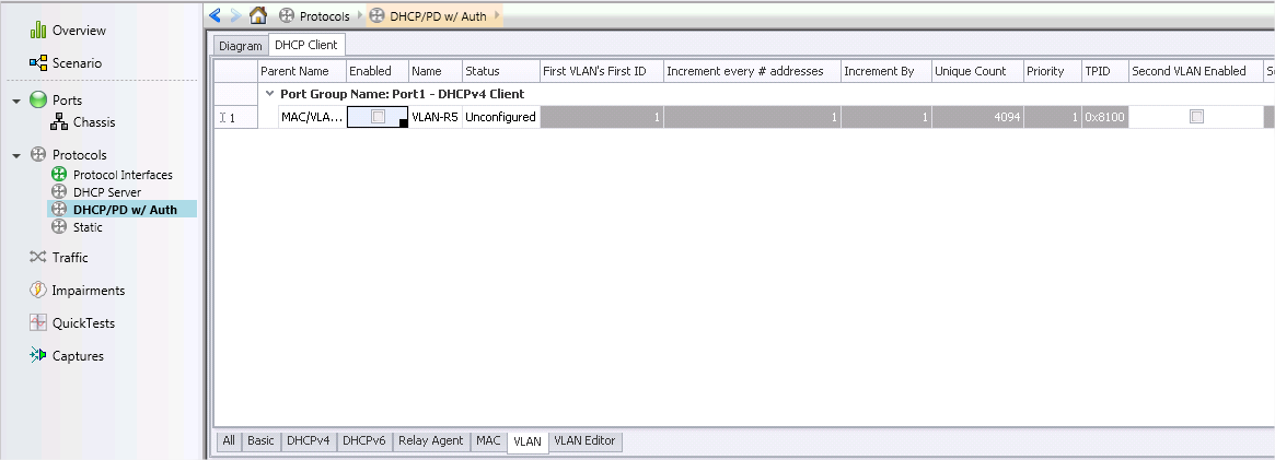How to IxNetwork: IxNetwork DHCP: How to configure DHCPv4