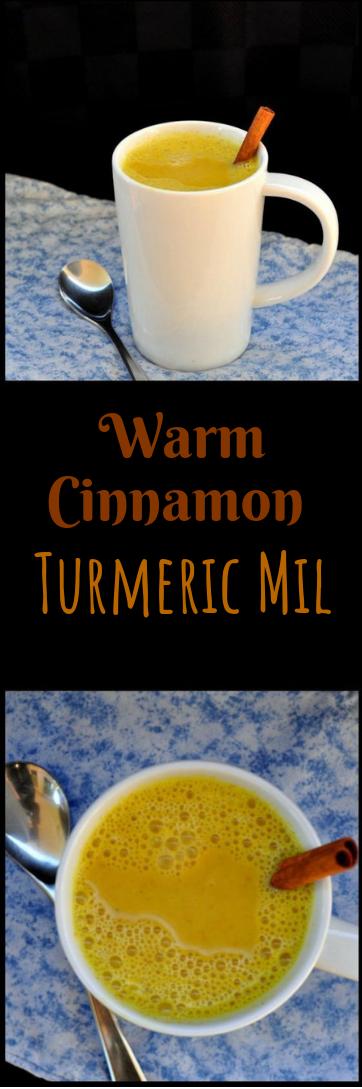 Warm Cinnamon Turmeric Milk