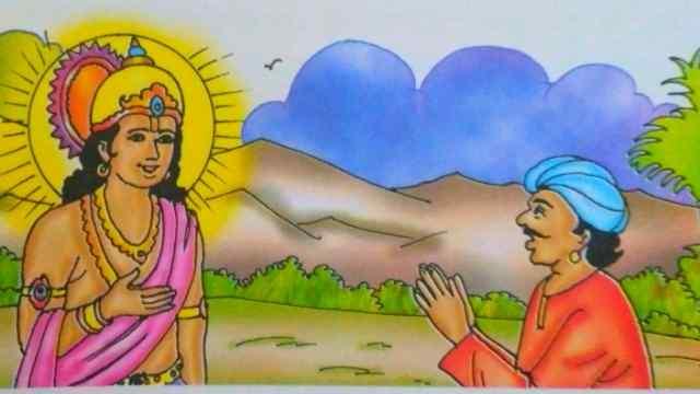 वाणी की महत्ता with God latest Hindi story