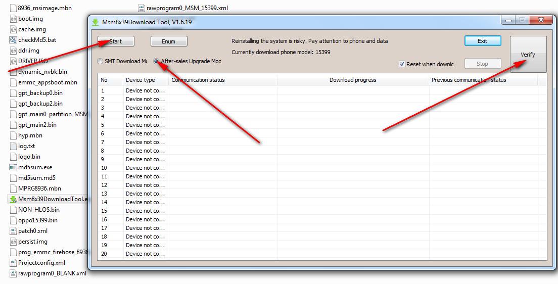 Oppo A71 Prog Emmc Firehose