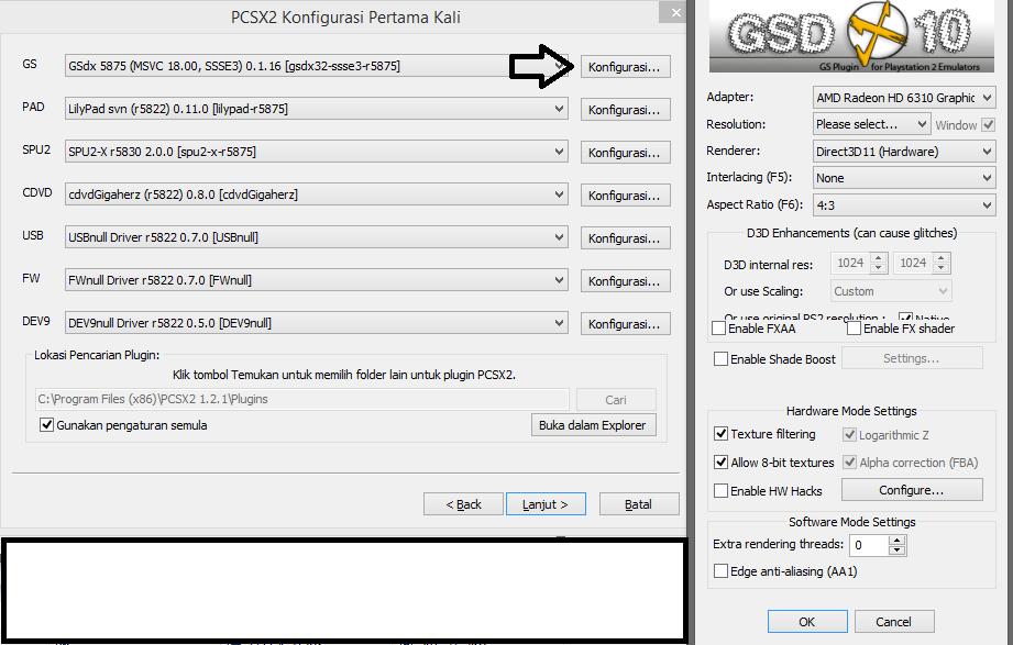 emulador pcsx2 1.0.0 com bios