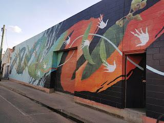 Street Art in Wagga Wagga by David 'MEGGS' Hooke