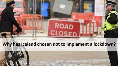 ¿Por qué Islandia ha optado por no implementar un bloqueo?