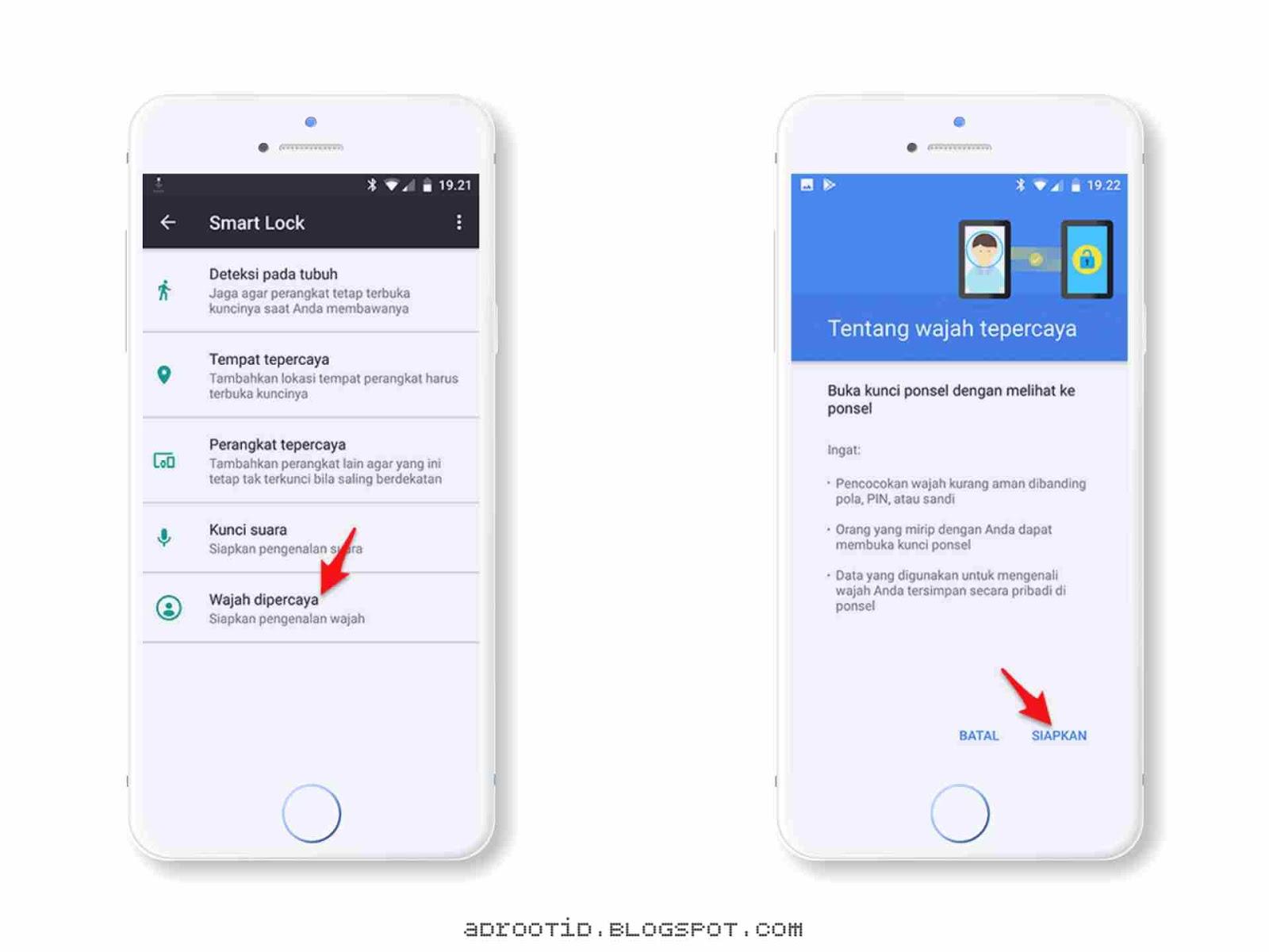 Aktifkan Face Unlock Android Oreo