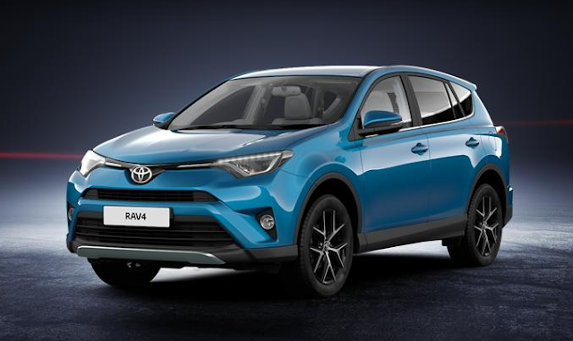 Toyota RAV4 IV Restylé (2018) - Couleurs / Colors