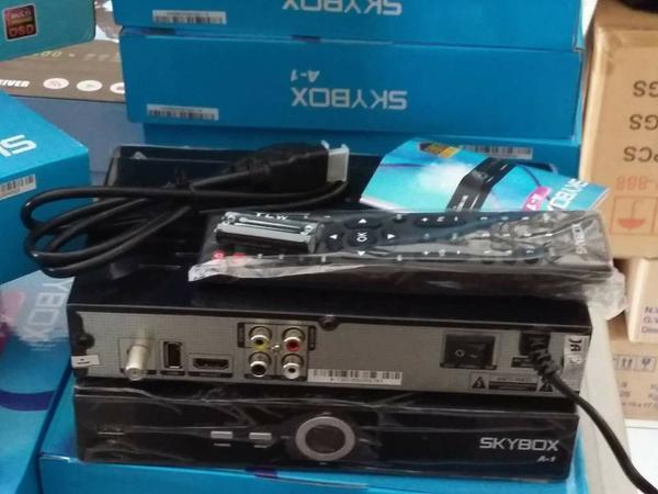 Panduaan Penggunaan Receiver Skybox A-1 HD PowerVU