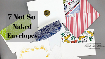 Learn 7 ways to dress up your envelopes in a not so naked way.  Click here to learn more!
