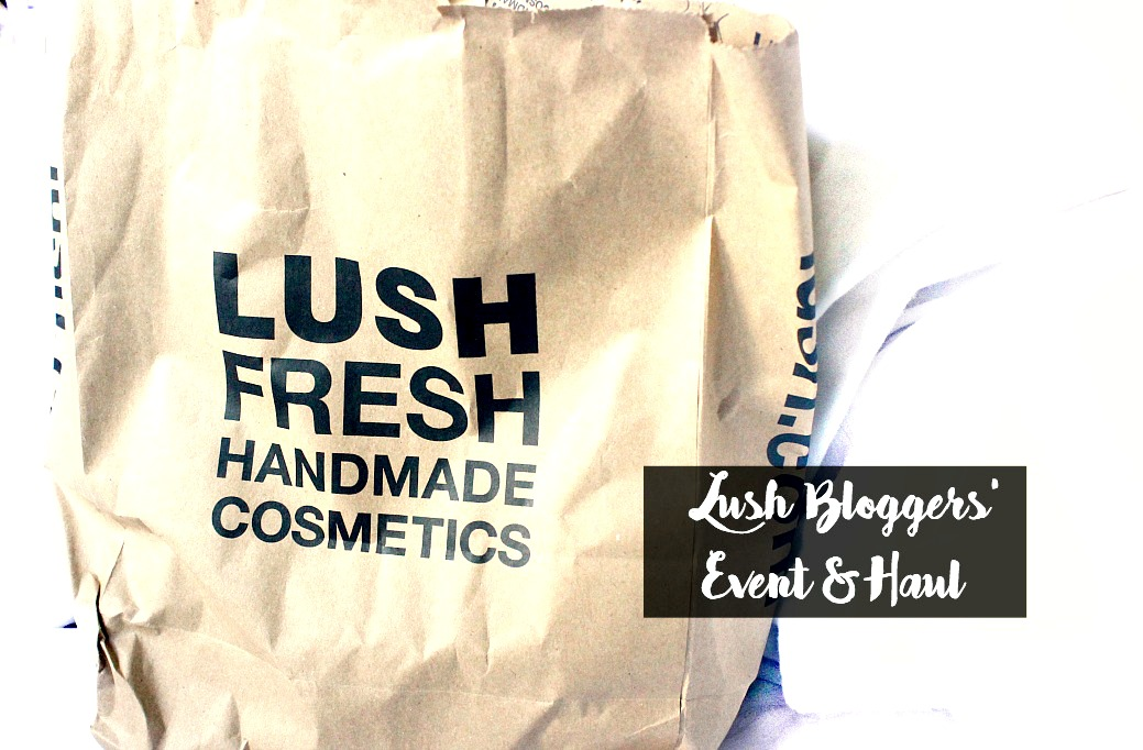 lush bloggers event halloween and christmas 2016 lush haul