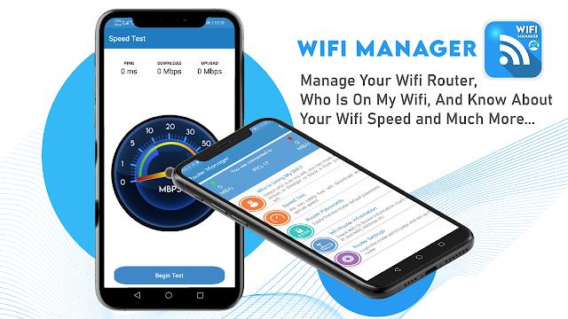 تحميل تطبيق Wifi Manager 2021 Internet Speed Test APK