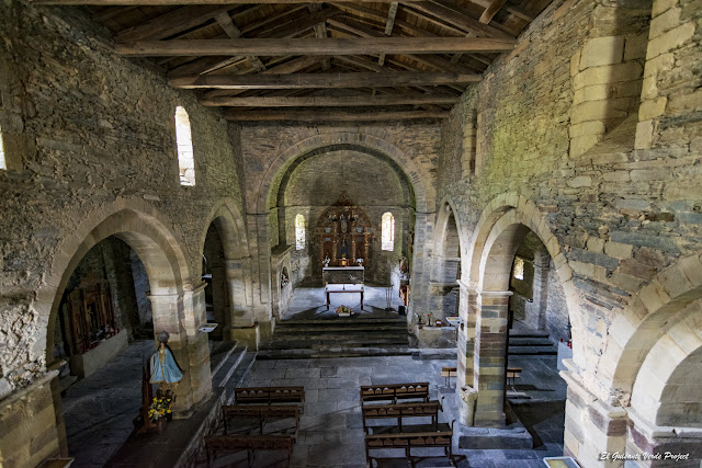 Iglesia de Santa María en Villanueva de Oscos - Asturias