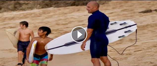 A Cymatic Session with Kelly Slater in Hawaii