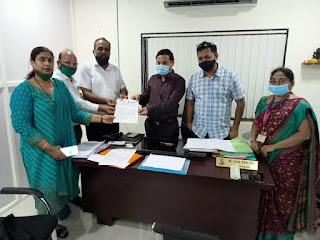 #JaunpurLive : महापालिका अधिकारियों ने दिया वैक्सीन आपूर्ति का आश्वासन