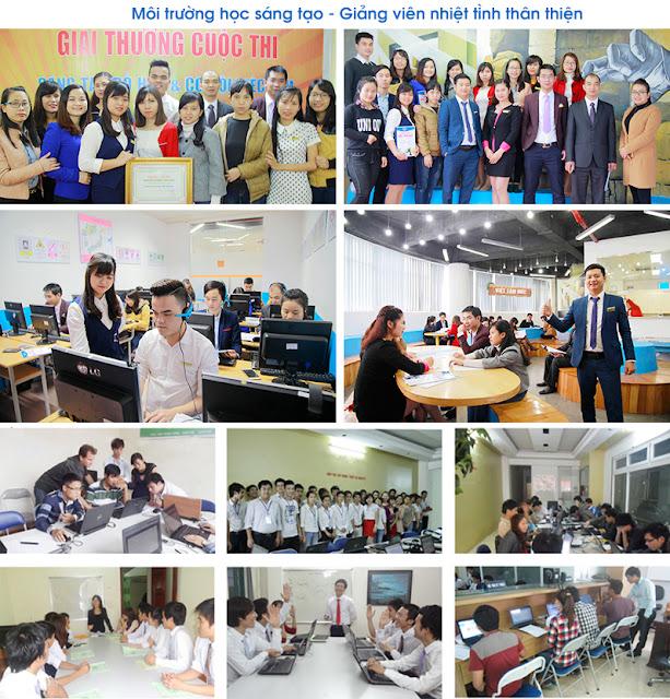 môi trường làm việc tại Việt Tâm Đức