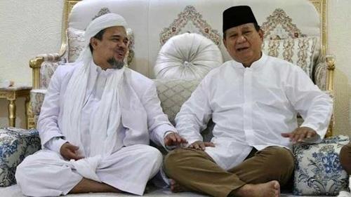Prabowo Biarkan Habib Rizieq Dipenjara, Tokoh Papua: HRS Saja Dilupakan Apalagi Rakyat Kecil Pedalaman