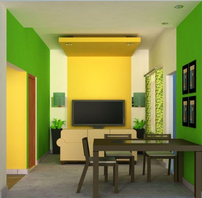 Warna Cat  Desain Interior Rumah Minimalis Sederhana  Feature  My Another Blog