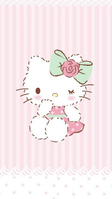 Gambar kartun hello kitty