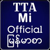 TTA Mi Official Myanmar Font