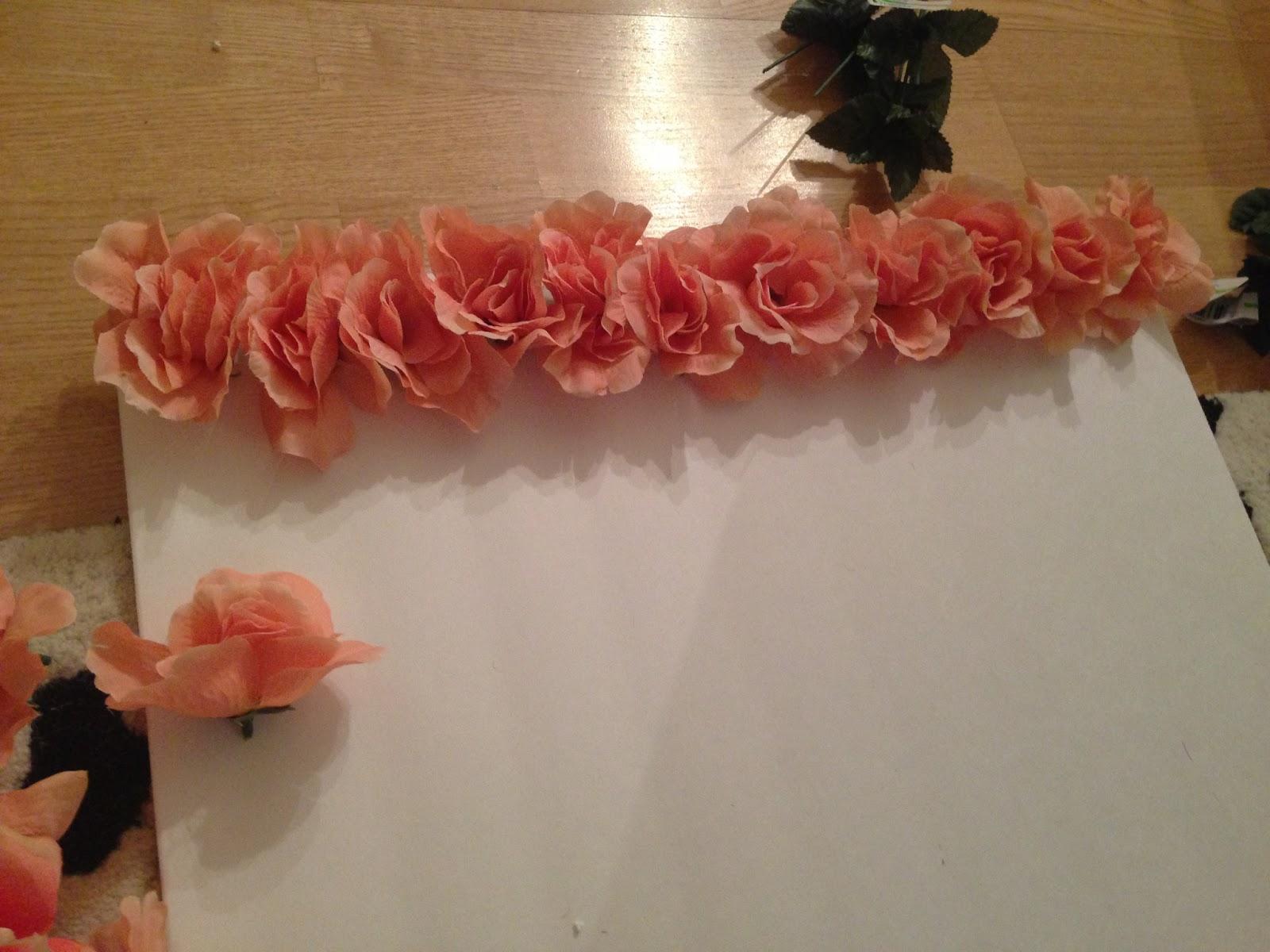 Diy Wall Flowers: DIY: Ombre Flower Wall