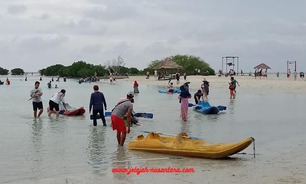 fasilitas selama wisata pulau pari