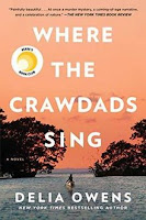 Where the Crawdads Sing by Delia Owens book cover and review
