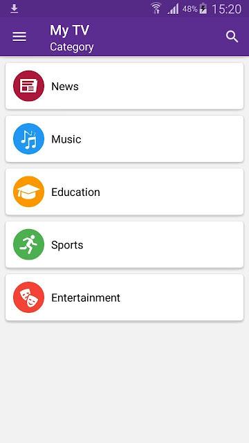 تحميل تطبيق MyTv - بث مباشر مباريات الدوريات العالمية و مشاهدة القنوات المشفرة