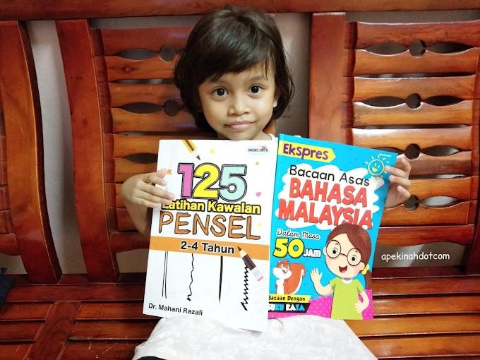 Buku Latihan Untuk Kanak-Kanak Mengawal Pensel Dengan Betul Dan Membantu Anak Cepat Membaca
